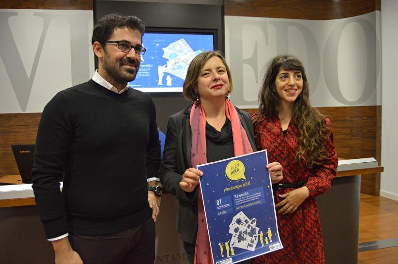 Presentación Plan HUCA en Ayuntamiento de Oviedo